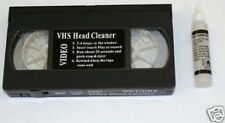 K1-Nuovo S/VHS/casettes video HEAD CLEANER + FLUIDO VHS/PAL/SECAM
