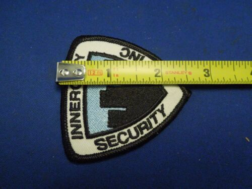 Vintage Inner City Security Inc Company Uniform Embroidered Iron On Patch Small