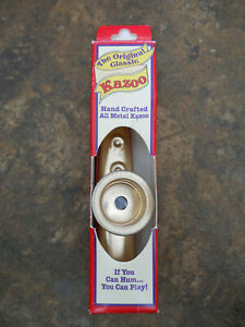 Bien Informé The Original Classic Hand Crafted Tous Métal Kazoo Woodstock Percussion Inc.-afficher Le Titre D'origine éGouttage