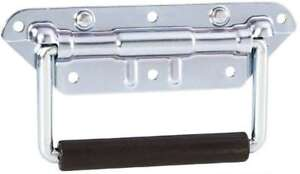 Rigidezza MANICO PIEGHEVOLE 155 x 83 mm argento Casse Grip MANIGLIA BOX maniglia maniglia di trasporto  </span>