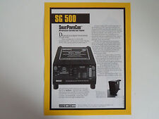 SGC SG-500 SMART POWER CUBE (GENUINE LEAFLET ONLY)......RADIO_TRADER_IRELAND.