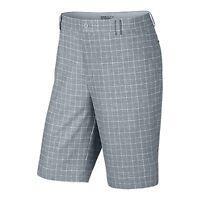 Nike Golf Men's Plaid Short Dove Grey/anthracite Closeout 639801-088