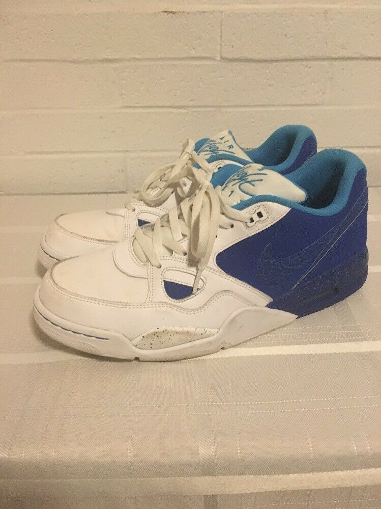 Nike Air Flight 2013 Royal Blue Size 13 599467-401 Vivid Shoes Sneakers Men's