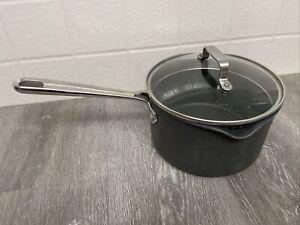 Emeril 3 QT Double Pour Sauce Pan Pot Spouts Kitchenware With Lid