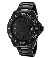 Invicta F0068 Mens Pro Diver Black Ion Plated SS Automatic Dive Watch