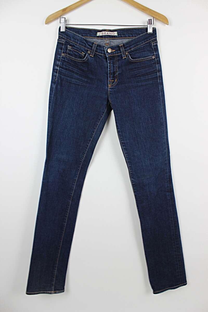 J Brand Dark Wash Stretch Skinny Jeans Size 26