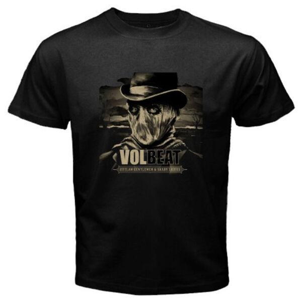 Amical New Volbeat *tour Logo Rock Band Men's Black T-shirt Size S M L Xl 2xl 3xl GuéRir La Toux Et Faciliter L'Expectoration Et Soulager L'Enrouement