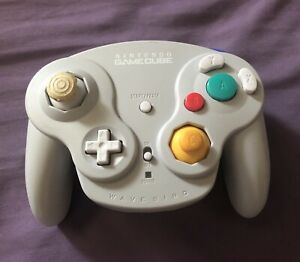 Nintendo Gamecube OEM Wavebird Controller DOL-004 Powers On UNTESTED As Is