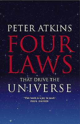 1 of 1 - Four Laws That Drive the Universe, Acceptable, Peter Atkins, Book