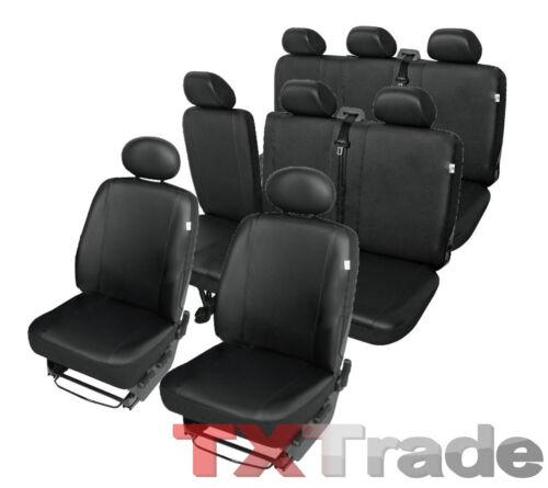 Kunstleder Sitzbezüge  OPEL  VIVARO  8 Sitzbezug Schonbezüge Schonbezug