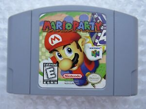 Details about OEM Mario Party 1 Nintendo 64 N64 Authentic Original Video  Game Cart Retro GREAT