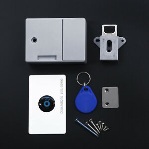 Durable-Electronic-RFID-Cabinet-Drawer-Lock-Digital-Lock-Set-Kits-Safety-New