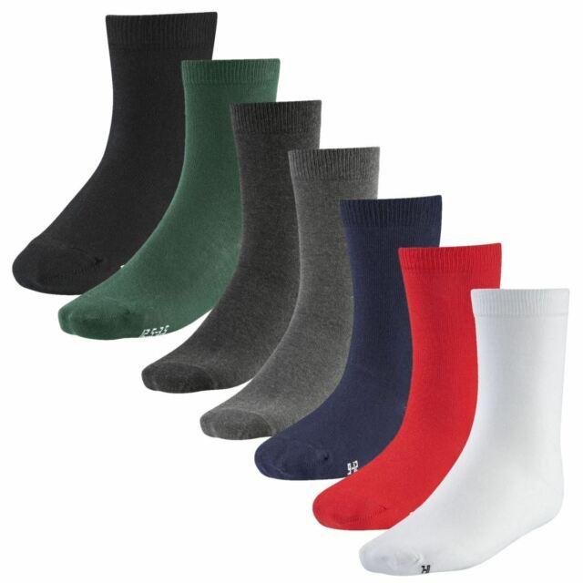 Pack of 6 W208 FLOSO Ladies Plain 100/% Cotton Socks