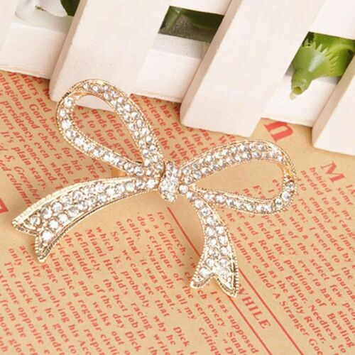 Design Rhinestone Rings Decorative Rings Big Bowknot Design Ring Finger Ring