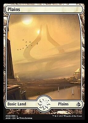 Plains 231 MTG MAGIC Zen Zendikar Ita TEXTLESS FULL ART Pianura 231
