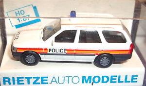 Ford-Escort-Police-rietze-H0-1-87-Emballage-D-039-Origine-LJ4