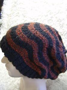 Tiger Rasta Slouchy - Teen Adult Hat - Easy Aran Knitting Pattern  a7578242d9c