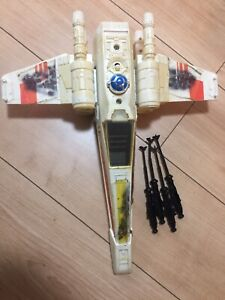 Vintage-Star-Wars-Kenner-X-Wing-Complete-With-2-Original-Cannons