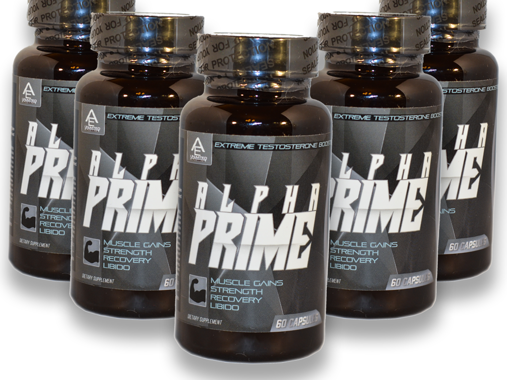 ALPHA PRIME- EXTREME TESTOSTERONE BOOSTER/ 3 Month Supply/ US Seller