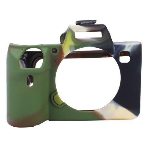 Cámara caso Protector De Silicona Suave Cubierta Accesorio para Sony A7 III//A7R3 CMT