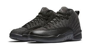 b912abf810ca80 DS 2016 Nike Air Jordan 12 XII Retro Wool Dark Grey 852627-003 Sz 10.5