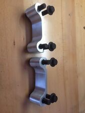 """05-14 Mustang 14"""" Rear Brake Rotor Adapter Brackets GT Boss 302 GT500 V6 13.8"""""""