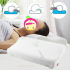 Bamboo Fiber Slow Rebound Sleep Memory Foam Contour Cervical Neck Care Pillow