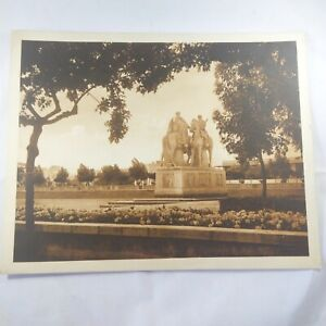 Photo-Flandrin-Rare-large-Heliograph-Editions-Mars-77-Casablanca-Monument