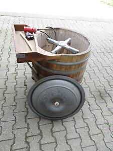 holzbottich waschmaschine von miele gebraucht ca 50. Black Bedroom Furniture Sets. Home Design Ideas