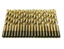"20 3/8"" Drill Bits Titanium High Speed Steel USA Made"