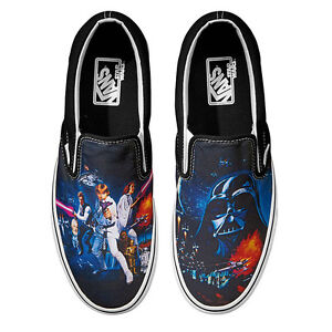 626c06c14e Image is loading Vans-X-Star-WARS-Classic-Slip-On-Shoes-