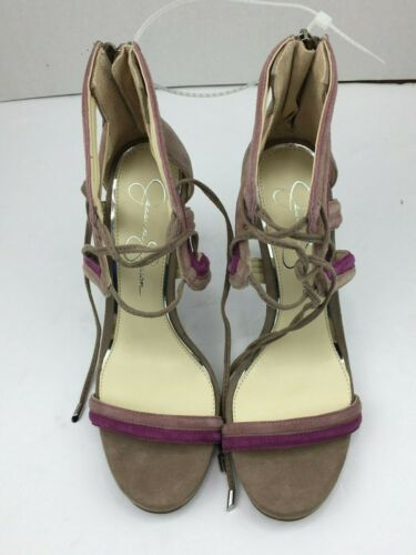 and Purple Ankle Heels Pink Jessica Simpson Tan