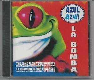 Sealed-CD-Azul-Azul-La-Bomba-Sony-Columbia-Records