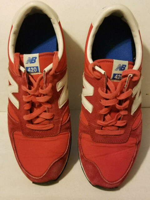 New Balance 420 Red Athletic/Casual Shoes Mens Size 10 U420UKR