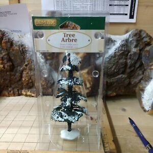 "Lemax  Village Collection  Snowy Cedar Tree 6""  ( Medium )"