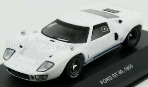 SOLIDO 1/43 FORD USA   GT40 1966   WHITE