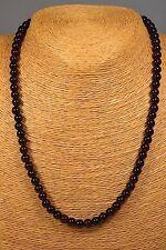 Granat Kette Collier 200ct.!! Classic Schmuck Edelstein Heilstein Halskette Neu