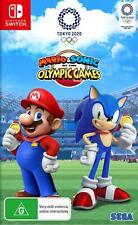 Mario & Sonic at the Olympic Games Tokyo 2020 - SWI Free Shipping!