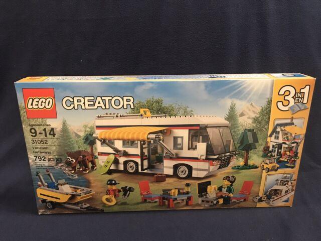 LEGO 31052 Creator Vacation Getaways RV Camper New Sealed Retired