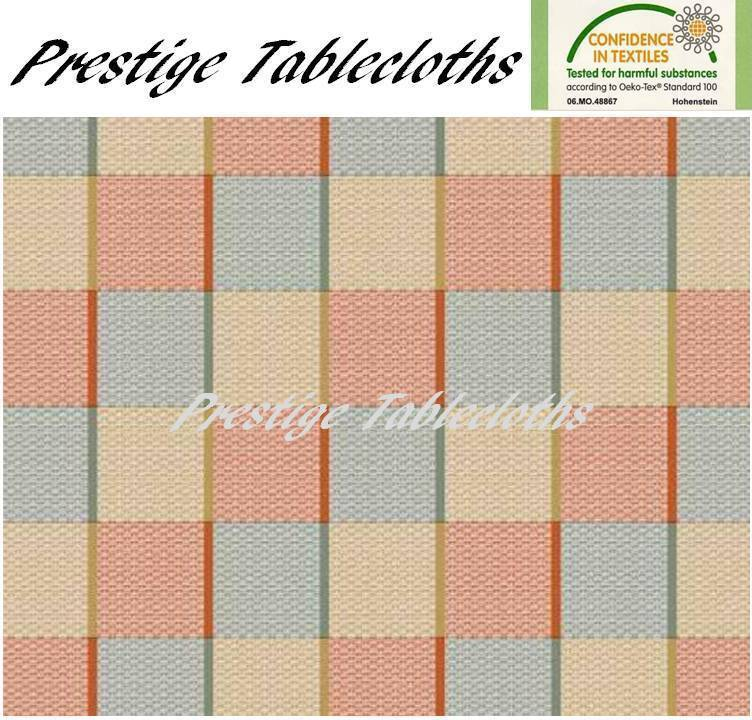 Modern Squares PVC Vinyl Wipe Clean Tablecloth  ALL SIZES - Code  C65-1