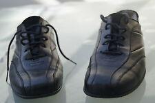 HARTJES Damen Schuhe Schnürschuhe Sneaker Leder Einlagen Gr.4,5 37,5 schwarz #21