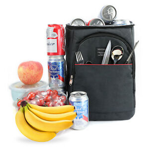 Cooler Bag Insulated Lunch Travel Ice Picnic Lunch Camping backpack