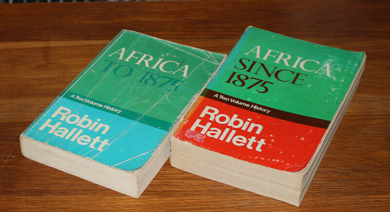 Africa - To and Since 1875 by Robin Hallett