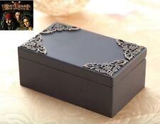 Black Vintage Rectangle Music Box : Pirates of The Caribbean Davy Jones Theme