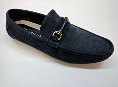 Men/'s New Slip On Casual Boat Deck Moccasin Designer Loafers Driving Shoes Size