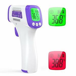 Infrarot-Fieberthermometer-Oberflaechenmessgeraet-kontaktlos-Babys-Erwachsene-Neu