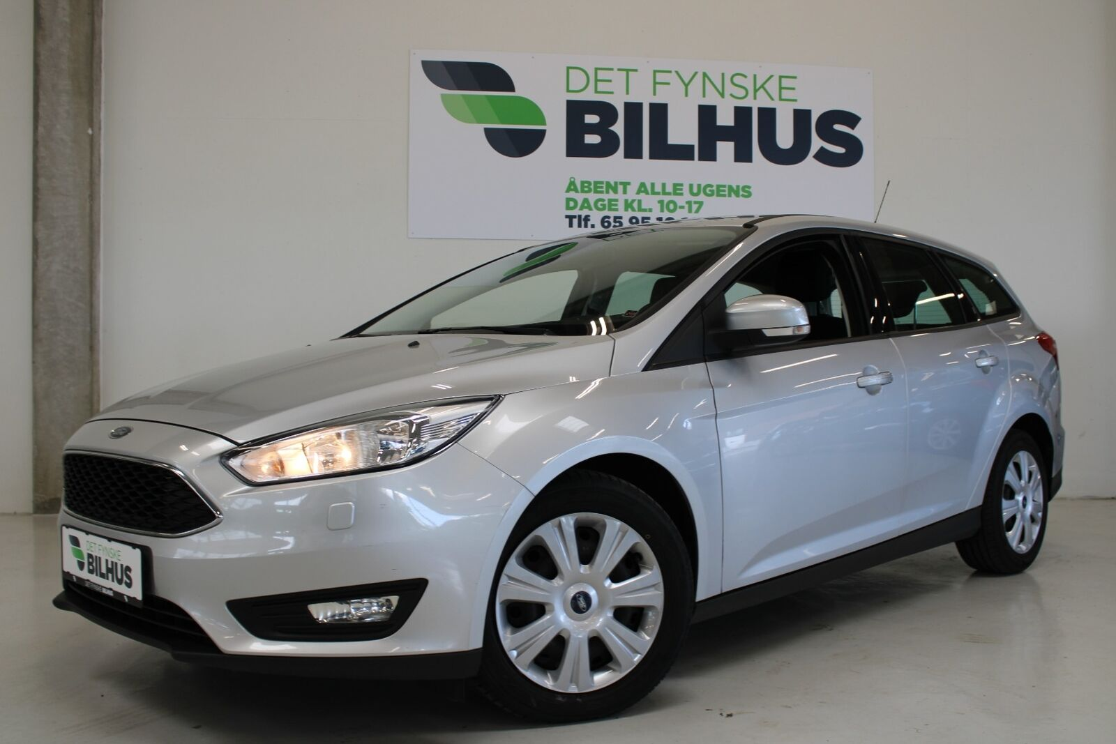 Ford Focus 1,5 TDCi 120 Business stc. 5d - 99.900 kr.