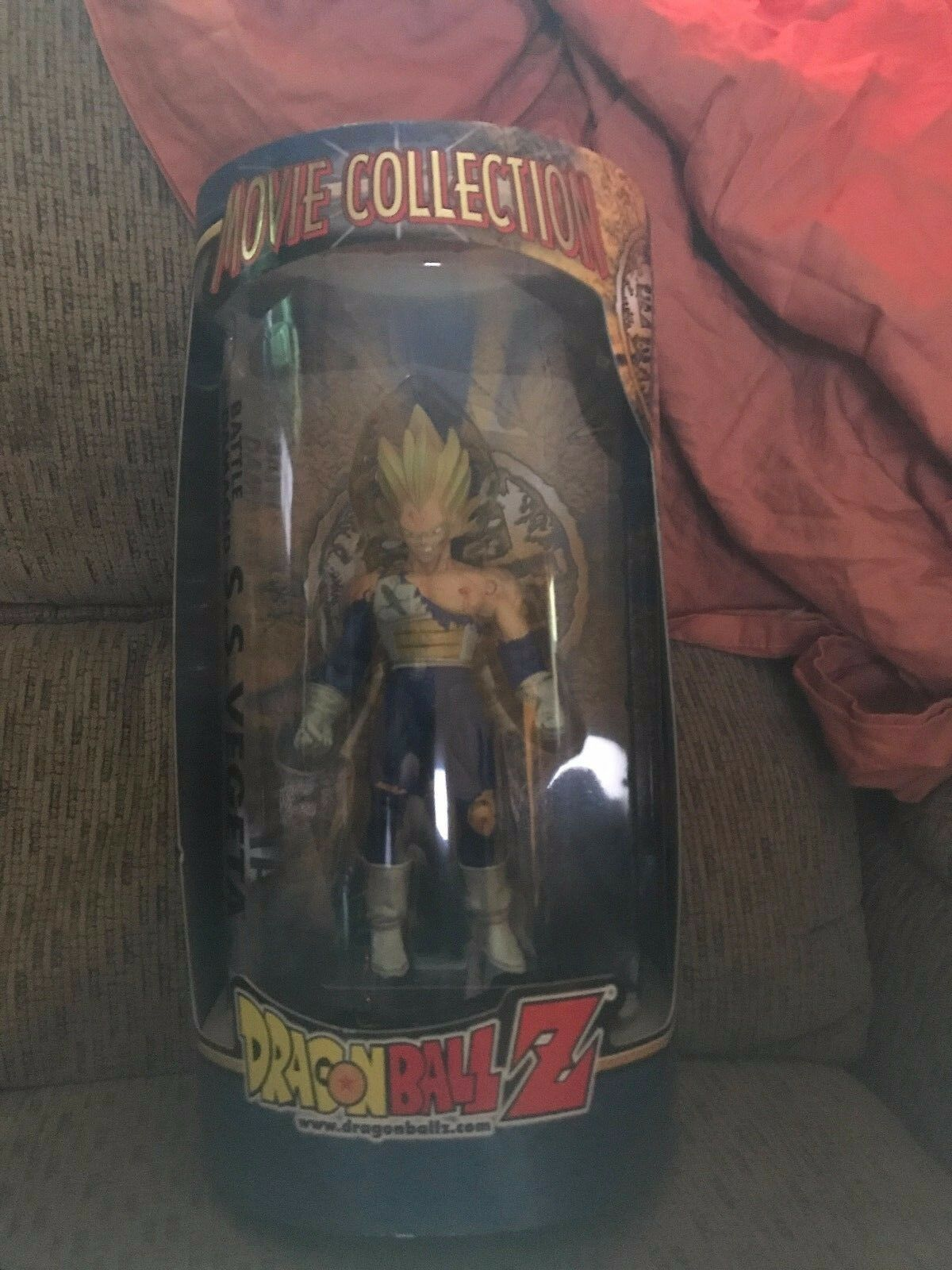 Dragonball z movie figure Battle Damaged SS Vegeta