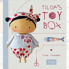 Tilda's Toy Box:Sewing patterns for soft toys Book By Tone Finnanger NEWHardback