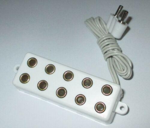 Barra di distribuzione con cavo di collegamento 5 anschlüße * NUOVO * 2,6mm